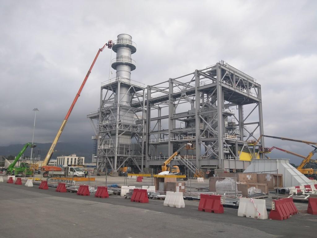 L'impianto progettato e costruito da Halmax group ad Abu Dhabi