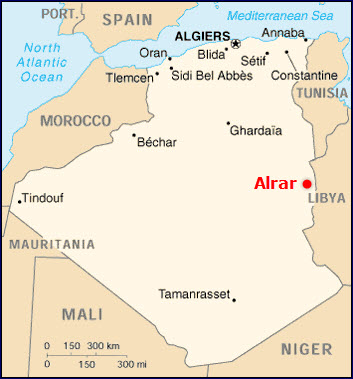 Sonatrach_Petrofac_Alrar_Gas_Compression_Extension_Map